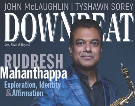 Rudresh Mahanthappa in Downbeat Magazine