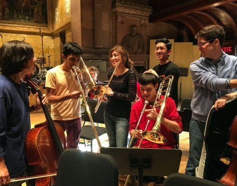 Princeton University Orchestra Students