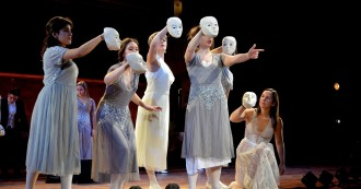 You can read about our acclaimed production of L'Orfeo this past weekend in this week's issue of Town Topics Newspaper: