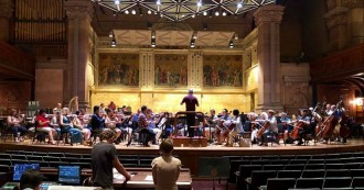 The Cone Composition Institute is off to an exciting start! Final concert featuring new works for orchestra, including