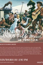 MUS224 Folk Music Flyer